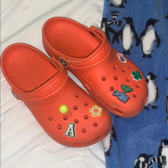 CROCS Shoes - Orange Crocs
